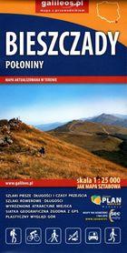 BIESZCZADY POŁONINY mapa turystyczna 1:25 000 STUDIO PLAN 2021