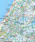 BELGIA FLANDRIA mapa rowerowa 1:150 000 ADFC 2021 (2)