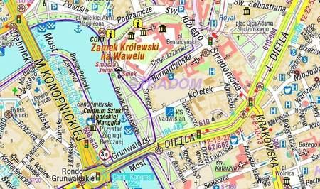 KRAKÓW plan miasta 1:20 000 COMPASS 2021 (2)