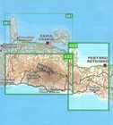 LEFKA ORI - SAMARIA mapa wodoodporna 1:50 000 NAKAS ROAD CARTOGRAPHY (2)
