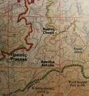 LEFKA ORI - SAMARIA mapa wodoodporna 1:50 000 NAKAS ROAD CARTOGRAPHY (4)