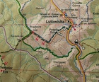 BIESZCZADY mapa laminowana 1:50 000 EKOGRAF 2020/2021 (5)