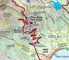 SERIFOS mapa turystyczna 1:17 000 ANAVASI (3)