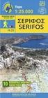 SERIFOS mapa turystyczna 1:17 000 ANAVASI (1)