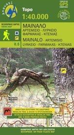 MT MENALO / MAINALO 8.5 mapa turystyczna 1:40 000 ANAVASI 2020
