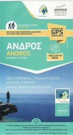ANDROS mapa turystyczna 1:27 000 ANAVASI 2019