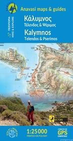 KALIMNOS mapa turystyczna 1:25 000 ANAVASI 2020