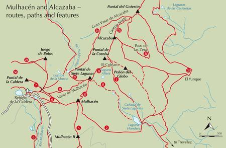 SIERRA NEVADA walking & trekking przewodnik CICERONE (2)