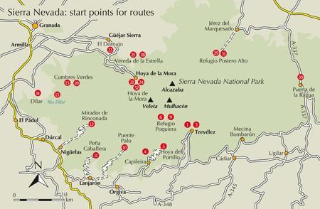 SIERRA NEVADA walking & trekking przewodnik CICERONE (3)