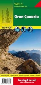 GRAN CANARIA mapa turystyczna 1:50 000 FREYTAG&BERNDT