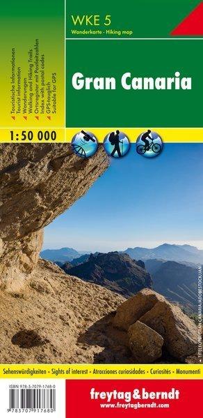 GRAN CANARIA mapa turystyczna 1:50 000 FREYTAG&BERNDT (1)