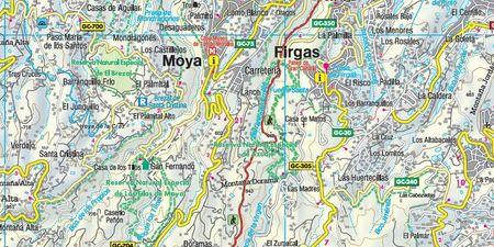 GRAN CANARIA mapa turystyczna 1:50 000 FREYTAG&BERNDT (2)