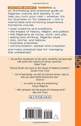 NIGERIA - Culture Smart! przewodnik KUPERARD (2)