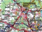 WOJEWÓDZTWO ŚLĄSKIE mapa laminowana 1:215 000 EXPRESSMAP 2019 (2)