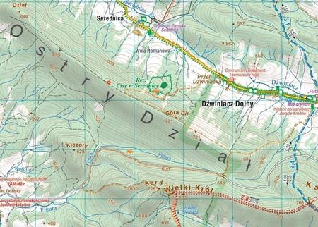 OKOLICE SANOKA mapa laminowana 1:50 000 COMPASS 2021 (4)