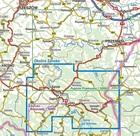 OKOLICE SANOKA mapa laminowana 1:50 000 COMPASS 2021 (3)