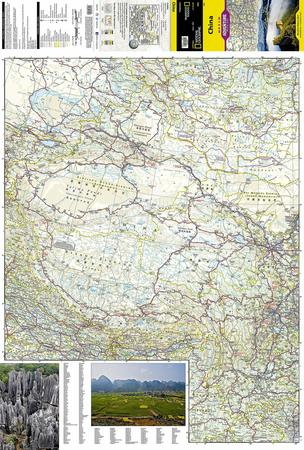 CHINY mapa wodoodporna NATIONAL GEOGRAPHIC 2019 (5)