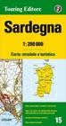 SARDYNIA mapa wodoodporna 1:200 000 TOURING EDITORE 2020 (1)