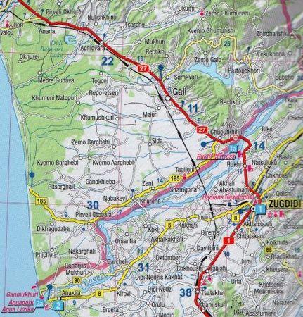 GRUZJA przewodnik + mapa EXPRESSMAP 2020 (3)