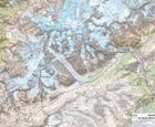 MONT BLANC laminowana mapa ścienna 1:25 000 IGN (2)