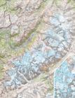 MONT BLANC laminowana mapa ścienna 1:25 000 IGN (1)