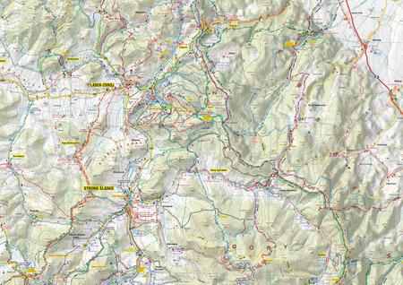 GÓRY ZŁOTE GÓRY RYCHLEBSKIE mapa wodoodporna 1:40 000 STUDIO PLAN 2021 (4)