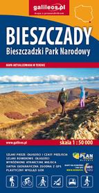 BIESZCZADY Bieszczadzki PN mapa 1:50 000 STUDIO PLAN 2021