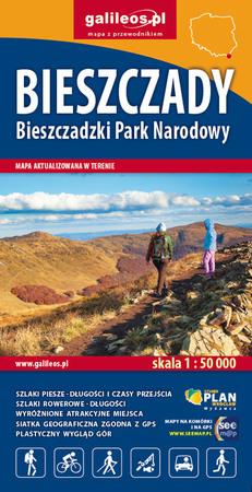 BIESZCZADY Bieszczadzki PN mapa 1:50 000 STUDIO PLAN 2021 (1)