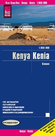 KENIA 6 mapa 1:950 000 REISE KNOW HOW 2020