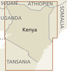 KENIA 6 mapa 1:950 000 REISE KNOW HOW 2020 (3)
