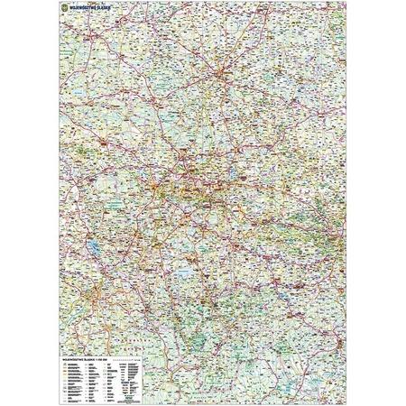 WOJEWÓDZTWO ŚLĄSKIE mapa 1:150 000 PIĘTKA (3)