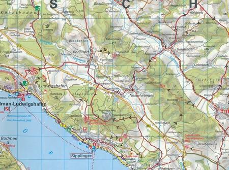 JEZIORO BODEŃSKIE mapa rowerowa 1:150 000 ADFC 2020 (3)