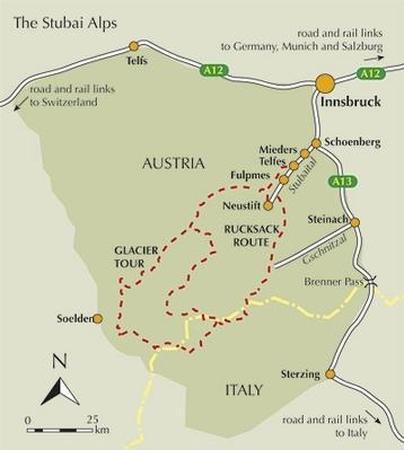 ALPY SZTUBAJSKIE Trekking in the Stubai Alps CICERONE (4)