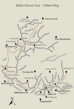 ALPY SZTUBAJSKIE Trekking in the Stubai Alps CICERONE (6)
