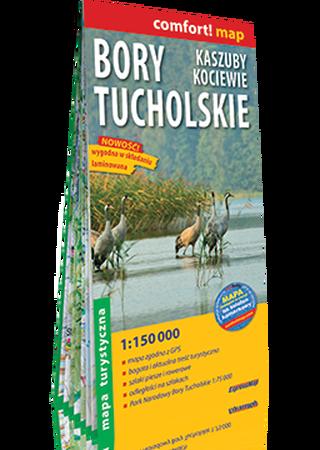 BORY TUCHOLSKIE KASZUBY KOCIEWIE mapa laminowana 1:150 000 EXPRESSMAP 2021 (1)