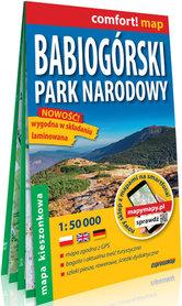BABIOGÓRSKI PARK NARODOWY mapa laminowana EXPRESSMAP 2021