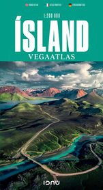 ISLANDIA atlas samochodowy 1:200 000 FERDAKORT 2021