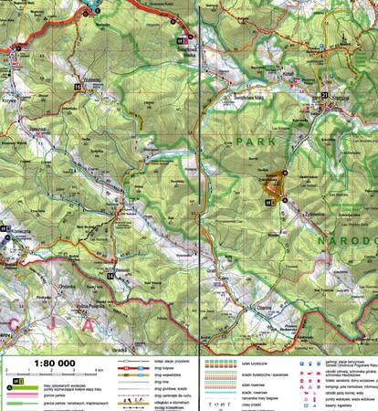 BESKID NISKI 2w1 przewodnik i mapa EXPRESSMAP 2021 (3)