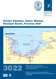 Zatoka Gdańska i Zalew Wiślany 3022 atlas map BSH