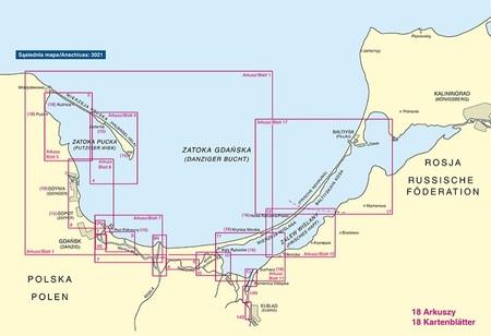 Zatoka Gdańska i Zalew Wiślany 3022 atlas map BSH (2)