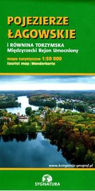 POJEZIERZE ŁAGOWSKIE I RÓWNINA TORZYMSKA mapa turystyczna 1:50 000 SYGNATURA 2021