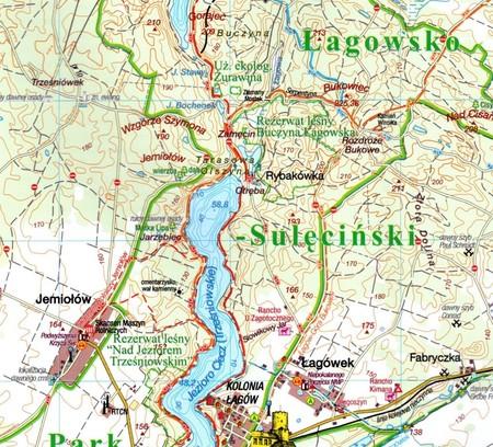 POJEZIERZE ŁAGOWSKIE I RÓWNINA TORZYMSKA mapa turystyczna 1:50 000 SYGNATURA 2021 (5)