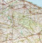 KAMPANIA BASILICATA mapa 1:200 000 TOURING EDITORE 2021 (2)