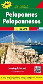 PELOPONEZ mapa samochodowa 1:150 000 FREYTAG & BERNDT