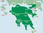 PELOPONEZ mapa samochodowa 1:150 000 FREYTAG & BERNDT (2)