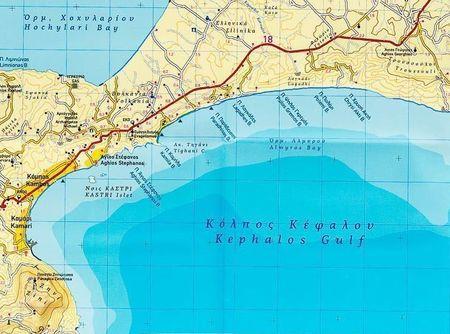 KOS mapa wodoodporna 1:45 000 Terrain Cartography (2)