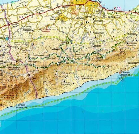 KOS mapa wodoodporna 1:45 000 Terrain Cartography (3)