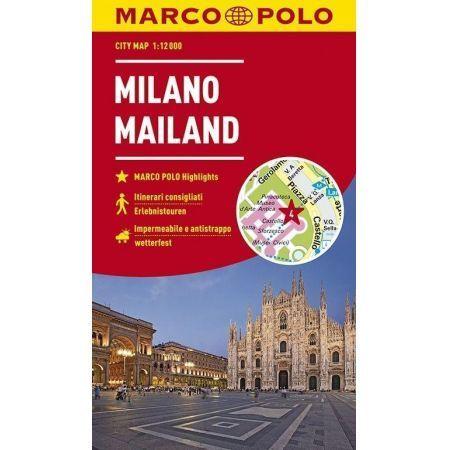 MEDIOLAN plan miasta wodoodporny MARCO POLO (1)