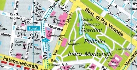 MEDIOLAN plan miasta wodoodporny MARCO POLO (2)