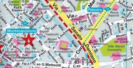 MEDIOLAN plan miasta wodoodporny MARCO POLO (3)